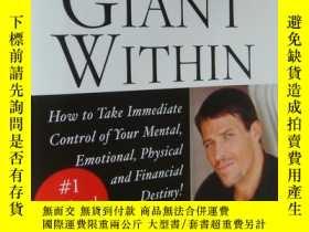 二手書博民逛書店AWAKEN罕見THE GIANT WITHINA: How to Take Control of Mental,
