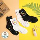 【正韓直送】韓國襪子 RAINBOW塗鴉...