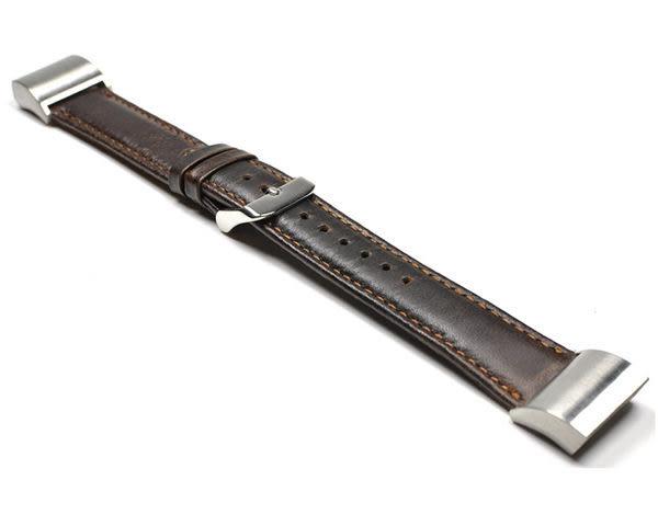 Fitbit charge 2 真皮質瘋馬紋 智慧錶帶 智能手錶帶 皮質感 可替換錶帶 智能手錶