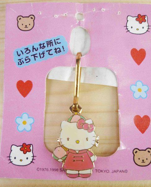 【震撼精品百貨】Hello Kitty 凱蒂貓~KITTY吊飾拉扣-中國