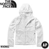 【The North Face 女 防風防曬外套《白》】49B4/薄外套/防曬外套/夾克