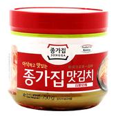 韓國泡菜-宗家府白菜切塊750g