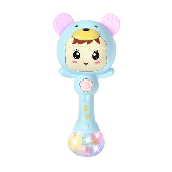 嬰兒搖鈴玩具 手抓棒沙錘節奏音樂棒早教寶寶益智玩具 -JoyBaby