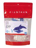 【日本 Kawada 河田】Diablock 迷你積木 海豚(大) DBC-06
