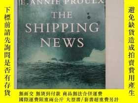 二手書博民逛書店【英文原版】The罕見Shipping News(真情  航運新