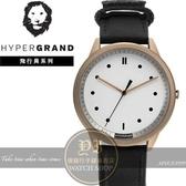 Hypergrand新加坡設計飛行員系列腕錶BW02RWBLK公司貨/潮流/設計師/情人節/禮物