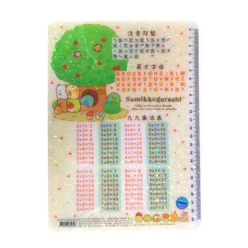 角落生物 角落小夥伴 學習墊板 森林款 99乘法表 注音符號 英文字母 【金玉堂文具】