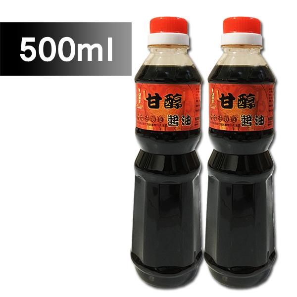 屏東監獄 鼎新甘醇醬油-500ml/罐