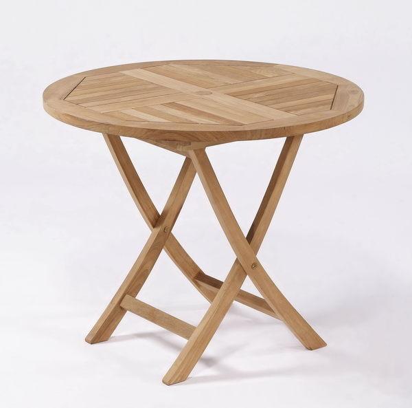 【南洋風休閒傢俱】戶外餐桌椅系列-80公分柚木折桌  戶外餐桌  實木折桌(#080T)