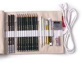 尾牙年貨節畫畫成人繪畫繪圖素描工具美術用品炭筆軟中硬2比2h-8b素描筆第七公社