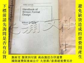 二手書博民逛書店Handbook罕見of Screen Format Desig