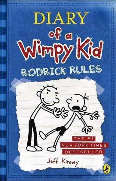 (二手書)Diary of a Wimpy Kid #2: Rodrick Rules (International edition)