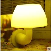 小夜燈LED插電創意夢幻聲光控遙控調光起夜節能臥室嬰兒餵奶床頭