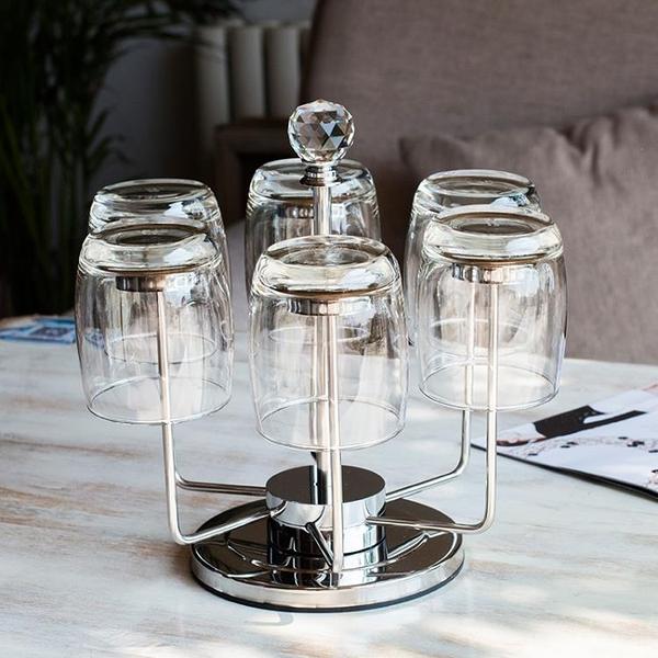 不銹鋼水杯架創意酒杯架時尚茶杯架
