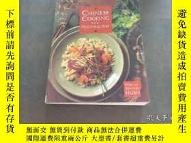 二手書博民逛書店CHINESE罕見COOKING THE HEALTHFUL W