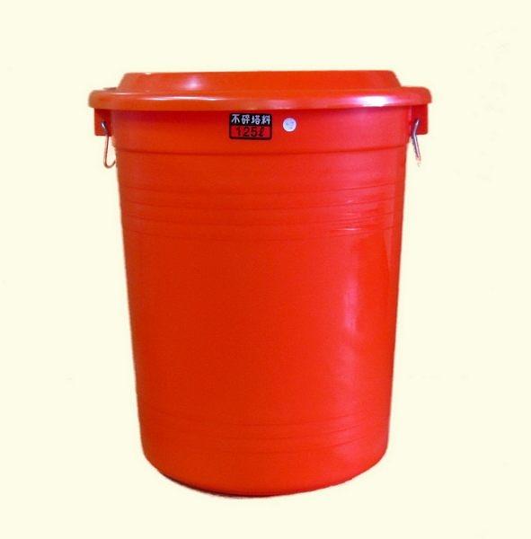 **好幫手生活雜鋪**通吉萬年桶 125L(附蓋子) -----儲水桶.營業用垃圾桶.萬能桶