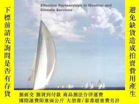 二手書博民逛書店Fair罕見Weather: Effective Partnership In Weather And Clima