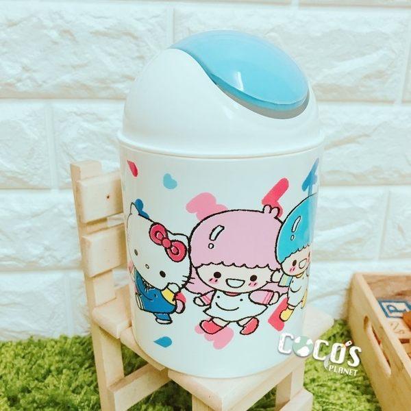HELLO KITTY KT 小垃圾桶 置物筒 圓形垃圾桶 車用垃圾桶 桌上型垃圾桶 COCOS PX066