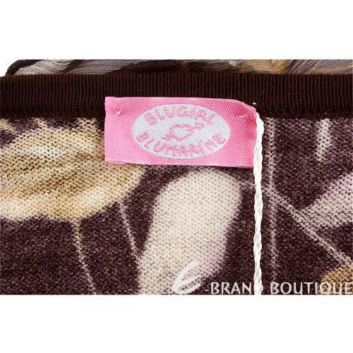 BLUGIRL 深紫色花卉圖紋兩件式上衣 0640079-83