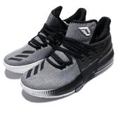adidas 籃球鞋 Dame 3 J 黑白 漸層 Damian Lillard 女鞋 大童鞋 【PUMP306】 CG4228