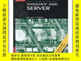 二手書博民逛書店MCSE罕見Guide to Microsoft Windows 2000 ServerY23583 Palm