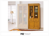 【MK億騰傢俱】ES615-05亞緹香檜3尺推門中抽書櫃