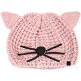KARL LAGERFELD Choupette 貓咪造型粗針織毛帽(粉色) 1720486-05