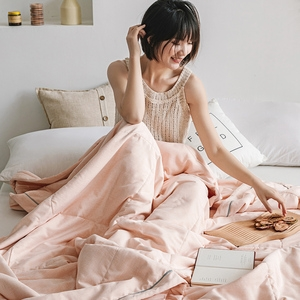 【BELLE VIE】自然簡約-新疆棉花被150x200cm( 甜橙)