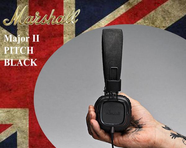 【小麥老師樂器館】Marshall Major II Pitch Black 瀝青黑 英國大廠 耳罩式耳機