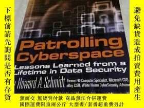 二手書博民逛書店Patrolling罕見Cyberspace Lessons L