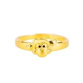 甜甜貓頭鷹-黃金戒指-貓頭鷹戒指