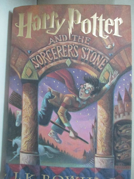 【書寶二手書T8/原文小說_KX4】Harry Potter and the Sorcerer s Stone_J. K. Rowling