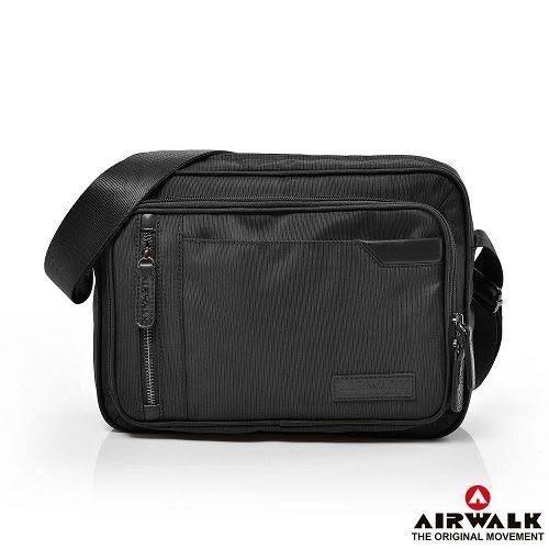BACKBAGER背包族【美國 AIRWALK】移動城市多夾層斜背包 多夾層 外出包/方包/公事包/肩背包/休閒包