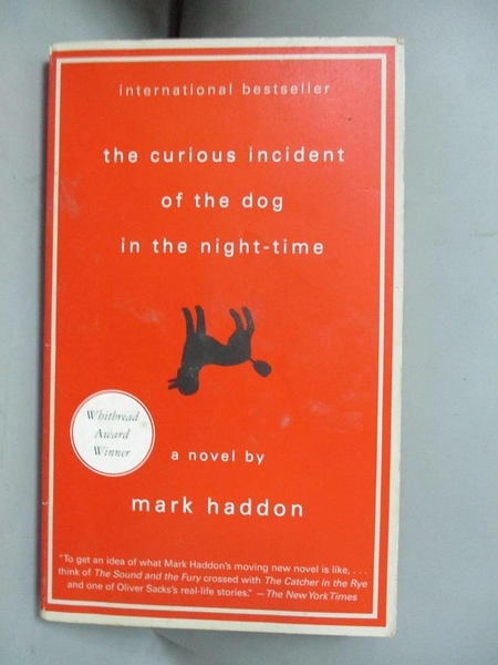 【書寶二手書T1/原文小說_LDE】The Curious Incident of the Dog in the Night_Mark Haddon