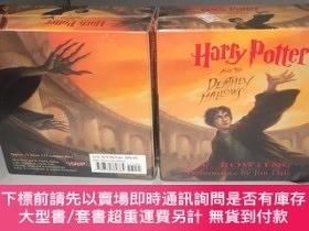 二手書博民逛書店Harry罕見Potter and the Deathly Hallows (保原裝進口 CD 光盤)【 未拆塑封