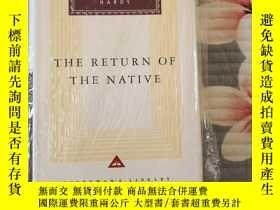 二手書博民逛書店The罕見Return of the Native 還鄉 Thomas Hardy 哈代 everymans li