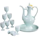 酒壺瓷器酒具套裝家用中式宮廷古代仿古創意