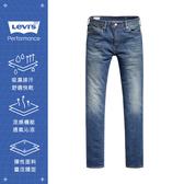 Levis 男款 511低腰修身窄管牛仔褲 / Cool Jeans 輕彈有型 / 中藍刷白