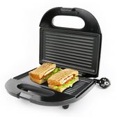三明治機早餐機帕尼尼吐司機烤麵包片機家用漢堡煎蛋煎220V 莫妮卡小屋 YXS