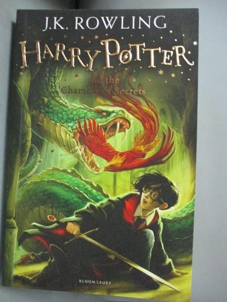 【書寶二手書T1/一般小說_LII】Harry Potter and the Chamber of Secrets_J.K. Rowling