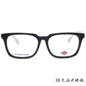 Lee Cooper 眼鏡 FP8076 (黑-琥珀) 方款 近視眼鏡 久必大眼鏡