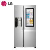 【現貨供應中 私訊享優惠價】〔LG 樂金〕761公升敲敲看門中門冰箱 GR-QPL88SV