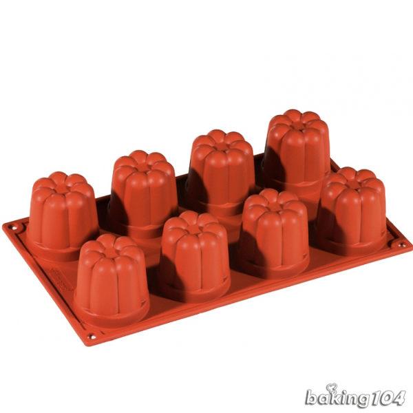 義大利 Pavoni 多連矽膠模 花朵造型 果凍模 巧克力模 蛋糕模 慕斯模 果凍模 點心模 PV FR035