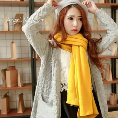 (促銷中)韓版圍巾。全新10色 超軟平板圍巾 交換禮物 生日禮物 男女 情侶裝(SSA0005)AngelNaNa