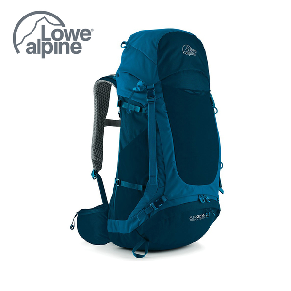 Lowealpine AirZone Trek+ 35:45 氣流網架背包 蔚藍 #FTE32