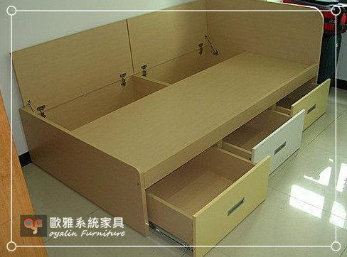 【歐雅系統家具】系統家具 系統板床組 收納床組 系統櫃