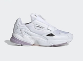 ISNEAKERS Adidas FALCON ZIP 白紫 拉鍊款 老爹鞋 女鞋 EF2047