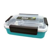 米安可三格保鮮餐盒700ml 藍