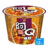阿Q桶麵韓式泡菜風味102g*12碗(箱)【愛買】