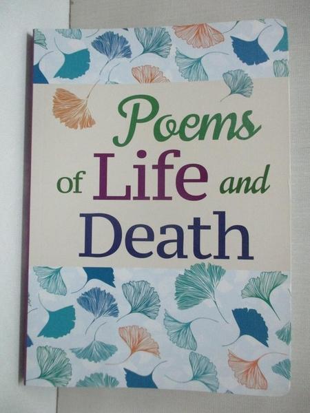 【書寶二手書T8/文學_BUH】Poems of Life and Death_Arcturus Publishing